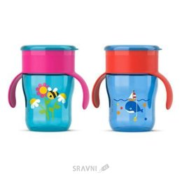 Товар для кормления детей Philips Чашка-непроливайка 260 мл (SCF782/20)