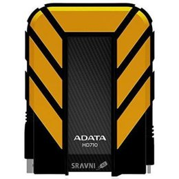 Жесткий диск, SSD-Накопитель A-Data DashDrive Durable HD710 2 TB Yellow (AHD710-2TU3-CYL)