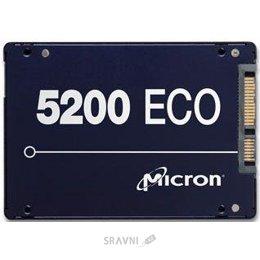 Жесткий диск, SSD-Накопитель Micron 5200 Eco 960GB (MTFDDAK960TDC-1AT1ZABYY)