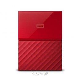 Жесткий диск, SSD-Накопитель Western Digital My Passport 2TB Red (WDBUAX0020BRD)