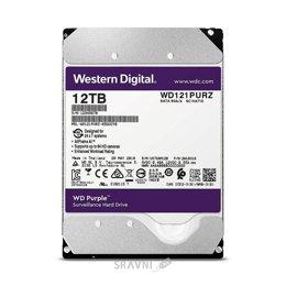 Жесткий диск, SSD-Накопитель Western Digital Purple 12TB (WD121PURZ)