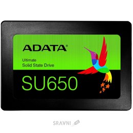 Жесткий диск, SSD-Накопитель A-Data Ultimate SU650 480GB (ASU650SS-480GT-R)