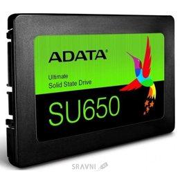 Жесткий диск, SSD-Накопитель A-Data Ultimate SU650 240GB (ASU650SS-240GT-R)
