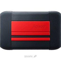 Жесткий диск, SSD-Накопитель Apacer AC633 1TB Power Red X Tough Black (AP1TBAC633R-1)