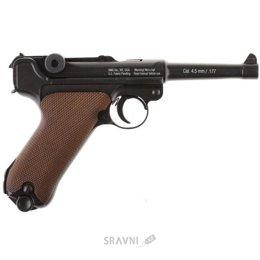 Пневматический пистолет Gletcher P-08 (Parabellum)