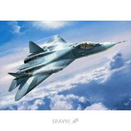 Сборную модель ZVEZDA Самолёт пятого поколения Су-50 (Т-50) (ZVE7275)