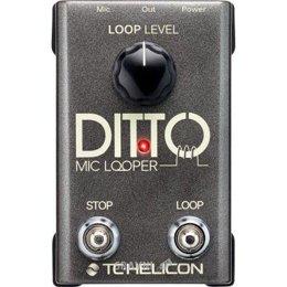 Обработку звука TC-Helicon Ditto Mic Looper
