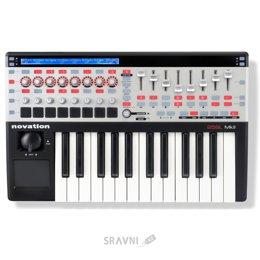 Midi клавиатуру Novation 25 SL MKII