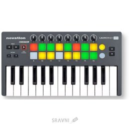 Midi клавиатуру Novation Launchkey Mini