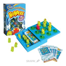 Настольную игру и головоломку ThinkFun Лягушки-непоседы (6701)