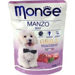 корм для собак Monge Grill Pouch говядина 100 г