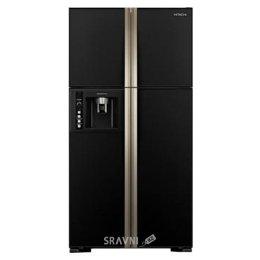 Холодильник и морозильник Hitachi R-W722FPU1XGBK