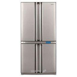Холодильник и морозильник Sharp SJ-F96SPSL