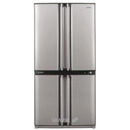 Холодильник и морозильник Sharp SJ-F95STSL