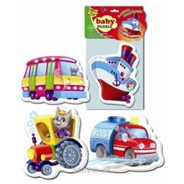 Пазл Vladi Toys Беби пазлы Машины-помощники (VT1106-08)