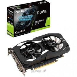 Видеокарта ASUS GeForce GTX 1650 DUAL OC 4GB (DUAL-GTX1650-O4G)