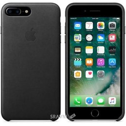 Чехол для мобильного телефона Apple iPhone 7 Plus Leather Case - Black (MMYJ2)