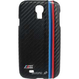 Чехол для мобильного телефона BMW Leather Hard Case for Galaxy S4 i9500/i9505 Carbon Effect (BMHCS4MC)