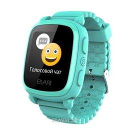 Умные часы, браслет спортивный Elari KidPhone 2 Green GPS (KP-2G)