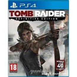 Игру для приставок Tomb Raider Definitive Edition (PS4)