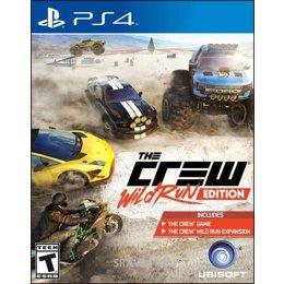 Игру для приставок The Crew Wild Run Edition (PS4)