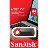 SanDisk 64 GB USB Cruzer Dial SDCZ57-064G-B35