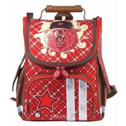 Школьный рюкзак, сумку BRAUBERG Медведь 17L (226916)