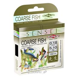Леску, шнур для рыбалки Mikado Sensei Coarse Fish (0.18mm 150m 5.10kg)