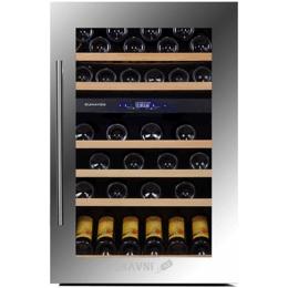 Винный и витринный холодильник Dunavox DX-57.146DSK