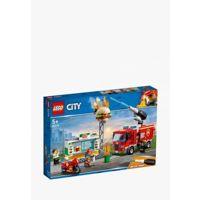 Конструктор детский Конструктор LEGO City 60214 Пожар в бургер-баре